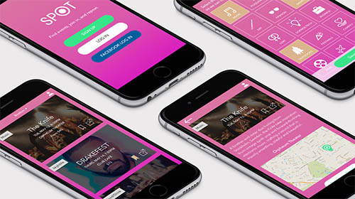 SPOT Event App By Meaghan Emery