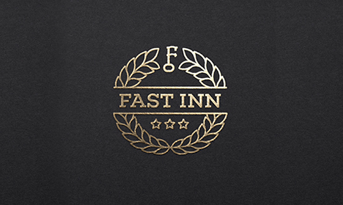 Fast Inn by Logo machine