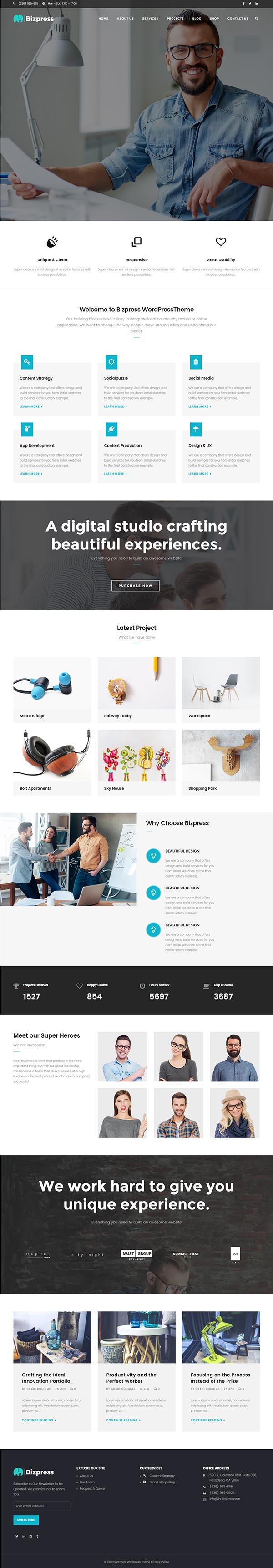 BizPress – Business & Corporate WordPress Theme