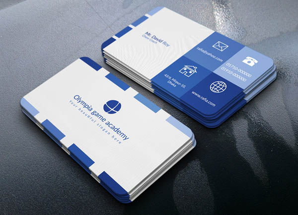 Business Cards PSD Templates for Designs - 10 Examples