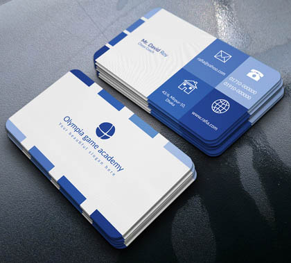 Free Minimal Medical Business Card Template  News  Design Blog