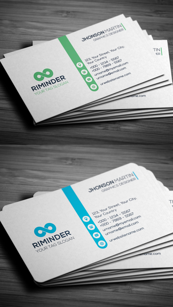 Business Cards PSD Templates for Designs - 10 Examples | Graphics ...