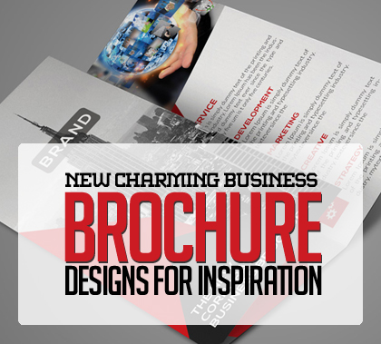 10 Charming Corporate Business Brochure Designs for Inspiration