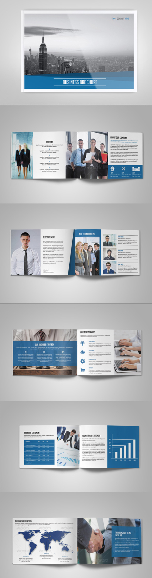 Business Brochure / Catalog Template