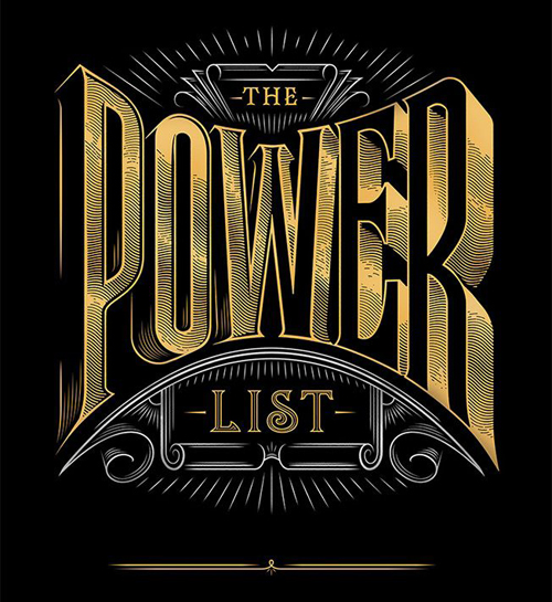 The Power List by Jordan Metcalf