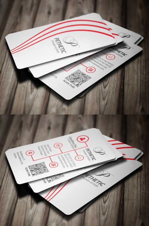 Creative Business Card Free PSD File