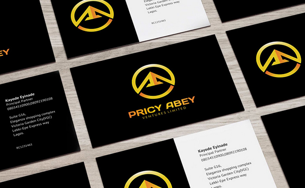 Pricy Abey Brand Identity by Adewale Akande