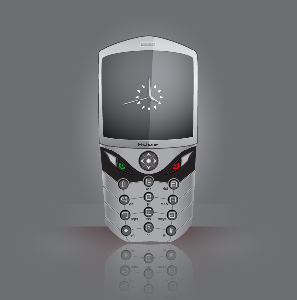 Create a Realistic Cell Phone in Adobe Illustrator