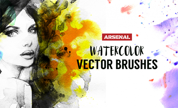 How to Create Watercolor Brushes in Adobe Illustrator