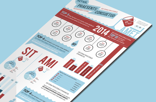 Free Infographics PSD Template