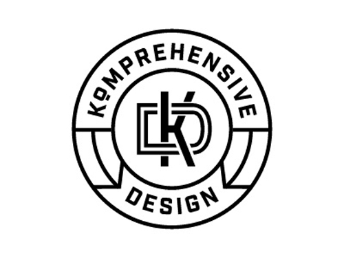 Komprehensive Design Logo by Jeanne Komp
