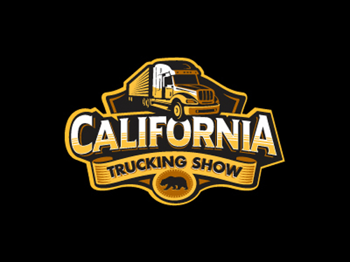 California Trucking Show Badge by Alan Oronoz