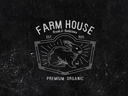 Farm Vintage Badge by inumocca