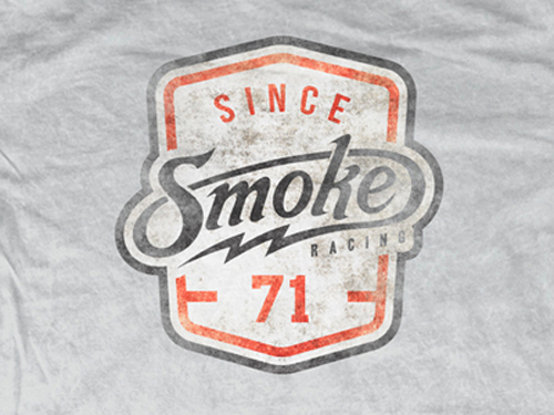 Smoke Badge Tee by Jarrett Arant