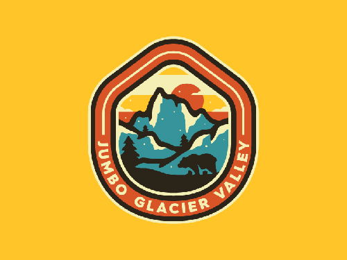 Jumbo Glacier Patch by Noah Revior