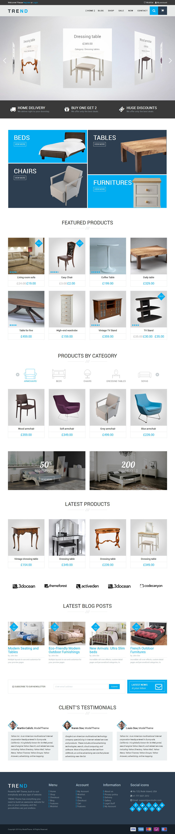 TREND – WooCommerce WordPress Theme