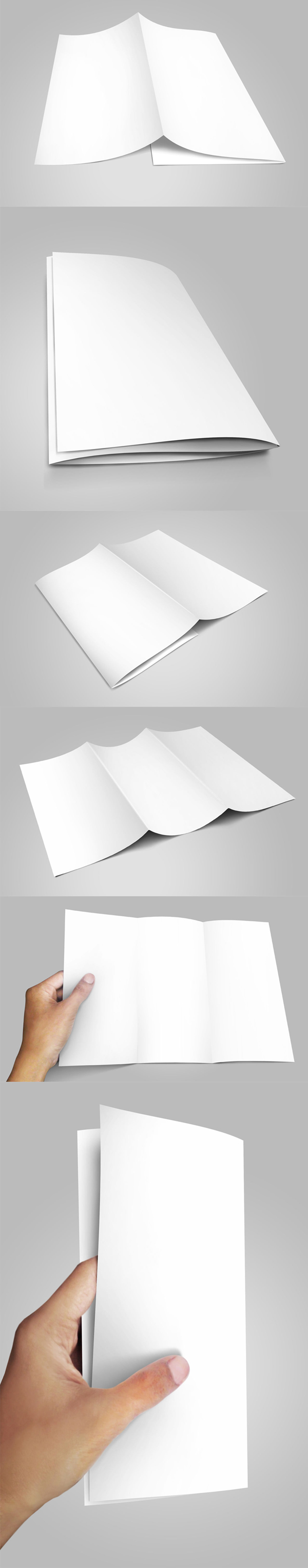 Free Trifold Brochure Mockup & PSD Template