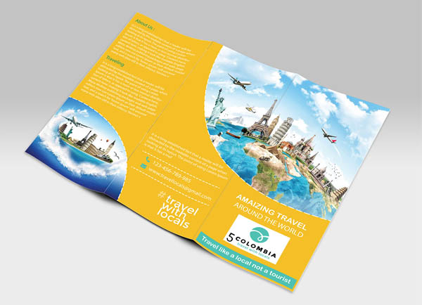 awesome brochure designs creative inspiring graphics design