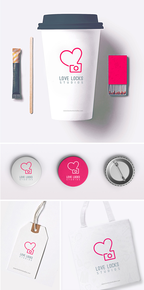 Love Locks Studios – Branding and Visual Identity by Balaji Kannan