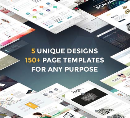 Post thumbnail of Best Responsive HTML5 WordPress Themes & PSD Templates