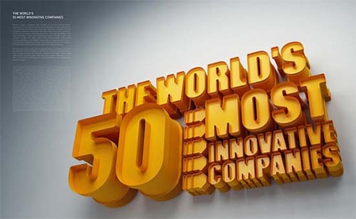 World's 50 Most Innovative Companies
