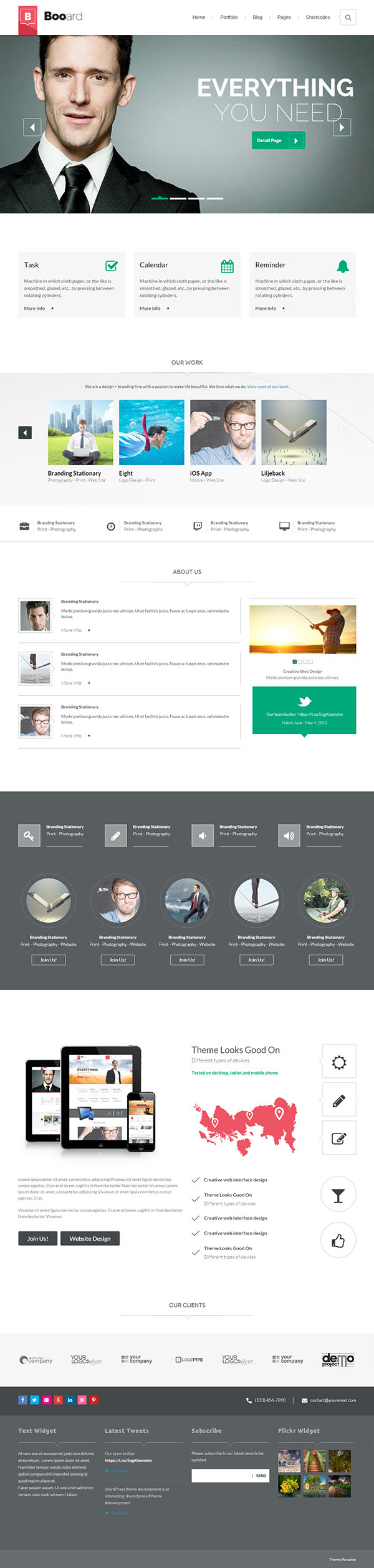 Booard – Corporate WordPress Theme