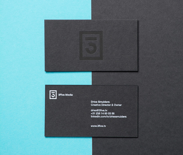 3Five Media Branding by Victor Malin