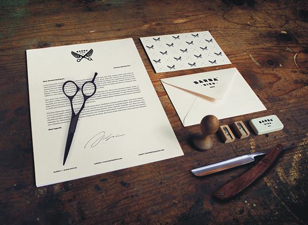 Barba Bird Identity by Dawid Cmok