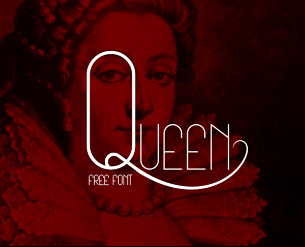 Queen Free Font