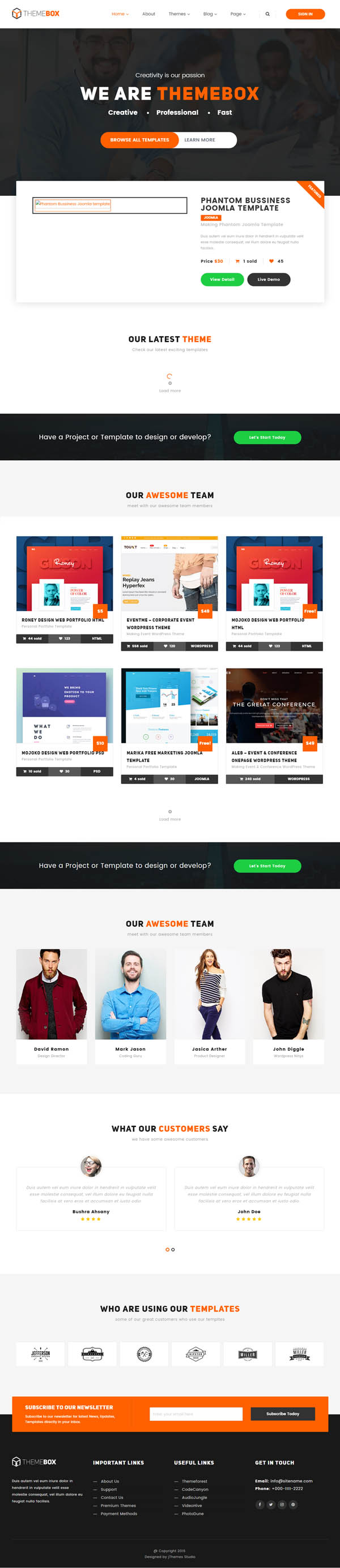 Themebox – Unique Digital Products Ecommerce WordPress Theme