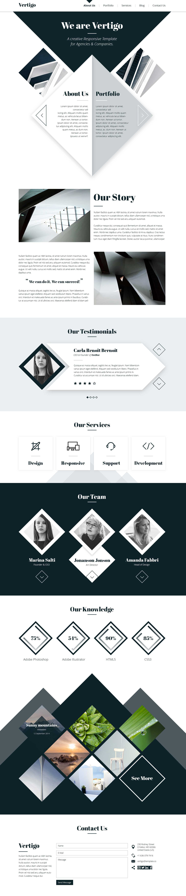 Vertigo – Responsive Multi-Purpose Theme