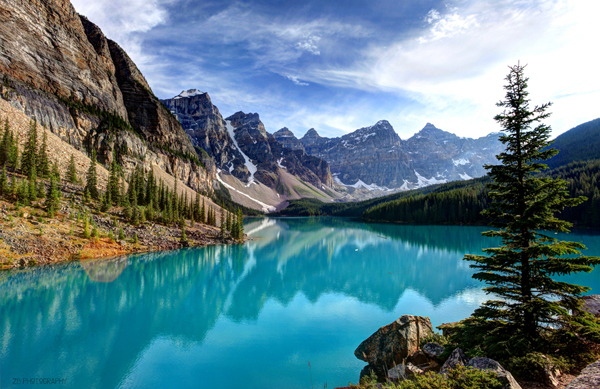 Reflections at Moraine Lake