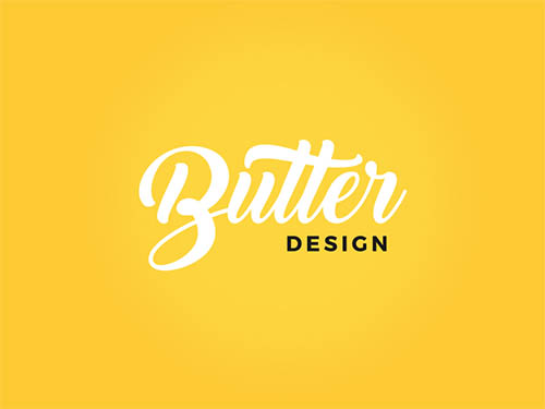 Butter Design Logo