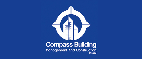 Compass Building Branding Identity by Aly Bassam