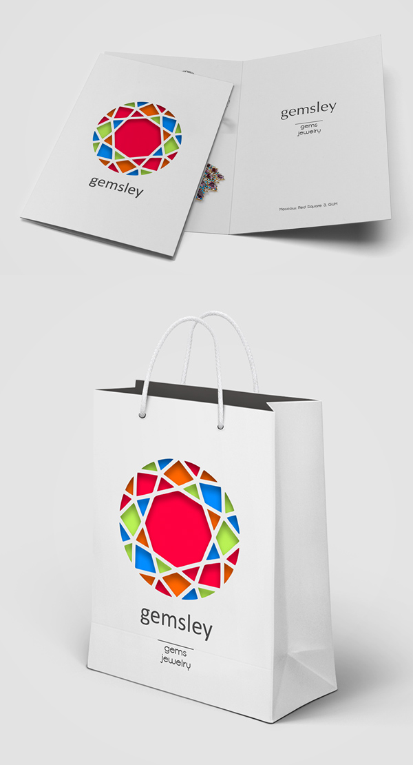 Store Gems & Jewelry Visual Identity by Kirill Buynitsky