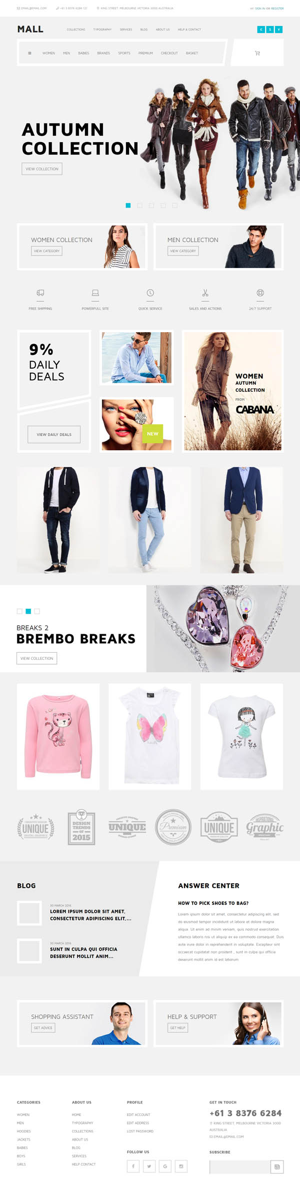 Mall - Multi-Purpose eCommerce Responsive WordPress Theme