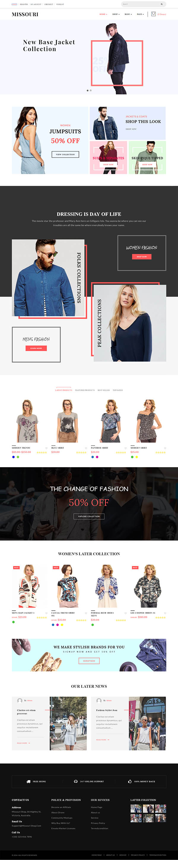 Missouri – Fashion WooCommerce WordPress Theme