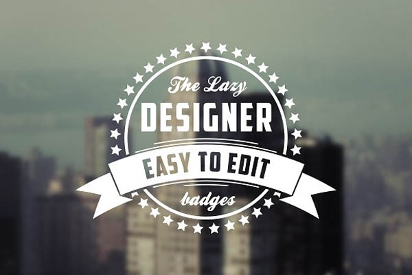 Retro Logo & Badge Templates - 3
