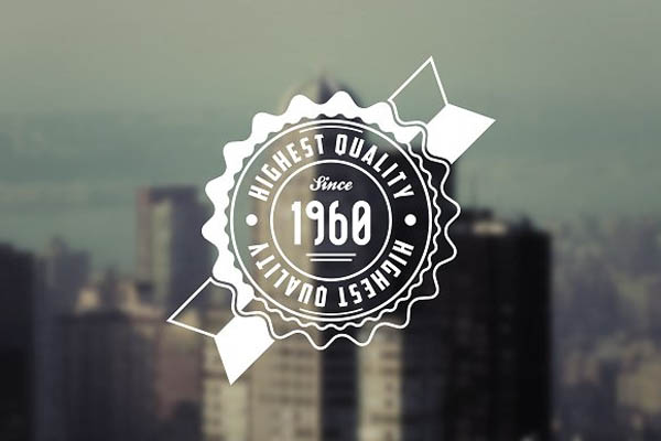 Retro Logo & Badge Templates - 5