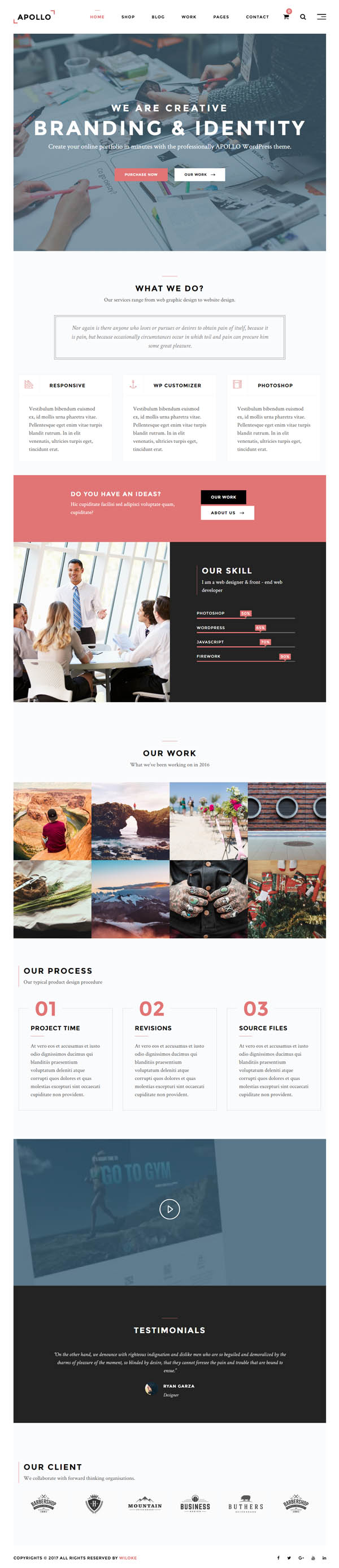 Apollo : Responsive Multi-Purpose WordPress Theme