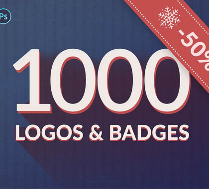 1000 Logos & Badges SALE