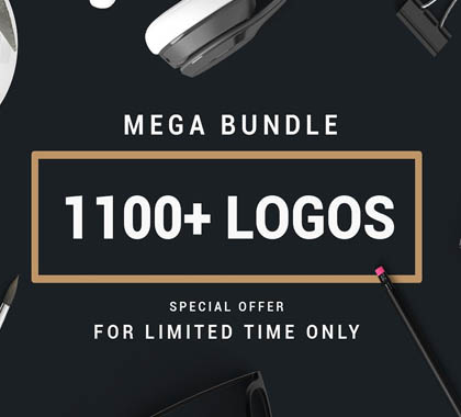 MEGA BUNDLE 1100 Logos & Badges