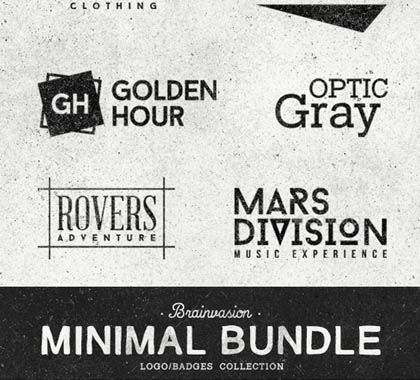 Post thumbnail of Minimal Logo/Badges Bundle