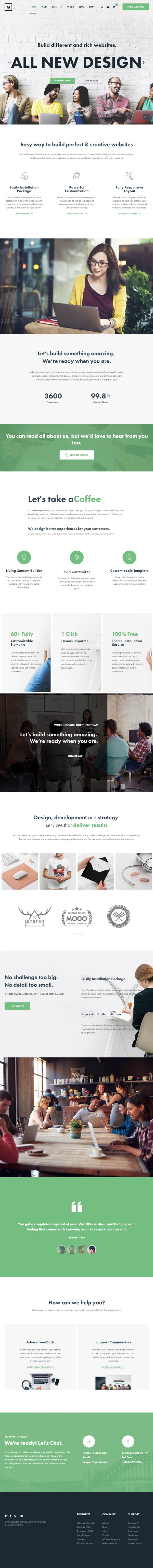 Musta : Corporate Multiuse WordPress Theme
