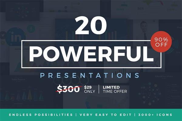 20 Powerful Presentations Bundle - 1