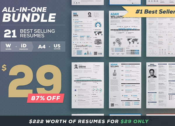 All-in-One Resume Bundle