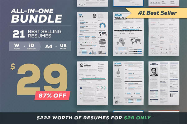 All-in-One Resume Bundle - 1