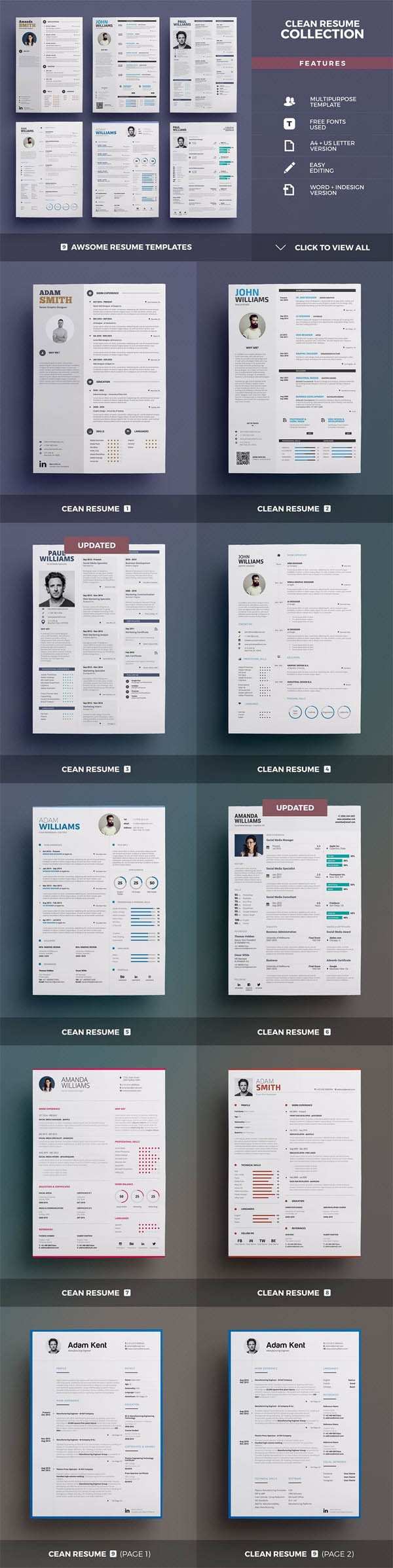 All-in-One Resume Bundle - 3