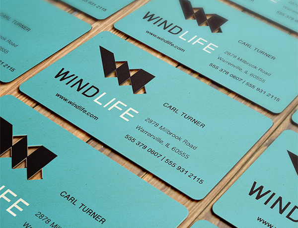 Wild Life Business Card Design