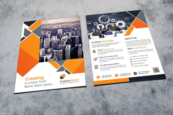 creative flyer templates